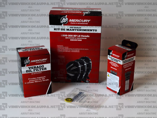 Mercury Verado L6 100h maintance kit